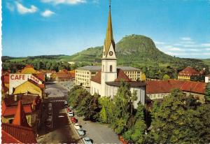 GG14403 Singen Peter und Paulkirche Church Cafe Auto Cars