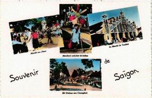 CPA AK INDOCHINA Souvenir de Saigon VIETNAM (957098)