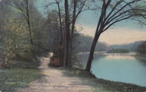 Indian Trail along Genesee River - Maplewood Park, Rochester NY, New York - DB