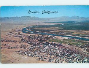 Pre-1980 AERIAL VIEW Needles California CA A5256