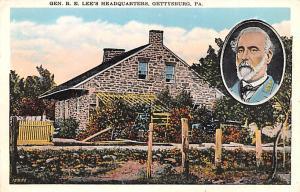 Civil War Post Card Old Vintage Antique Postcard Gen R E Lee's Headquart...