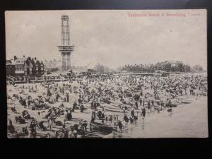 Norfolk BEACH & REVOLVING TOWER Great Yarmouth c1903 by Alfred Yallon