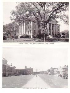 US - Goldsboro, North Carolina - Two Cards