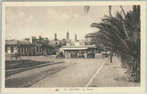 80328  -  TUNISIA  - VINTAGE POSTCARD   - SOUSSE : La Poste