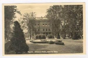RP  Zagreb. Zrinjevac-Motiv, Galerija Stika, Croatia. 20-40s