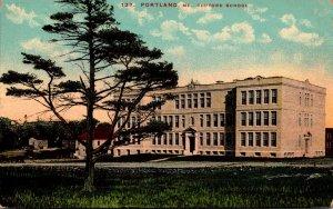 Maine Portland Clifford School 1914