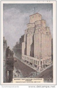 Hotel Governor Clinton Opposite Pennsylvania Station New York 1950
