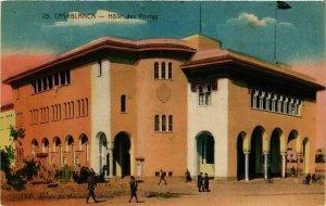 CPA AK CASABLANCA Hotel des Postes MAROC (824514)