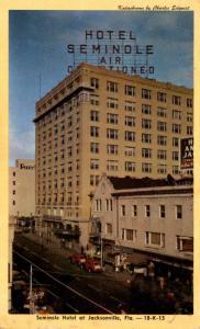 Florida Jacksonville Seminole Hotel 1950 Dexter Press