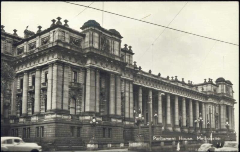 australia, MELBOURNE, Parliament House (1960s) RPPC