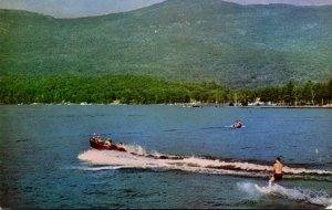 New York Lake George Water Skiing