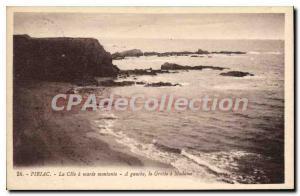 Postcard Old Piriac La Cote A rising Maree