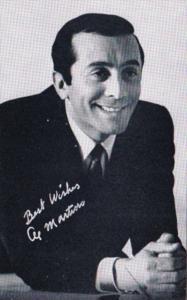 Vintage Arcade Card Al Martino