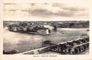 Senglea Malta Scenic View Real Photo Antique Postcard J53849