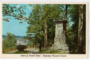 Grave of Daniel boone, Frankfort KY