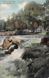 Rhode Island East Providence Falls At Hunts Mills