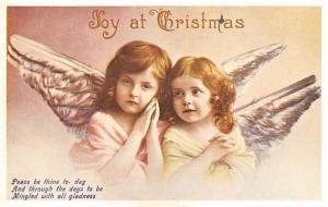 Christmas Postcard Reproduction Unused