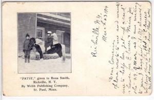 Patsy given to Rena Smith, Richville NY