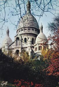 France Paris Le Sacre Coeur de Montmartre