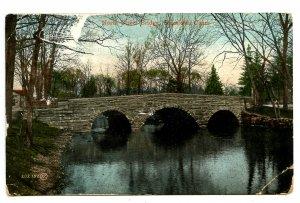 CT - Stamford. North Street Bridge     (scrape, creases)