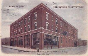 SPRINGFIELD , Missouri , 1907 ; Business College