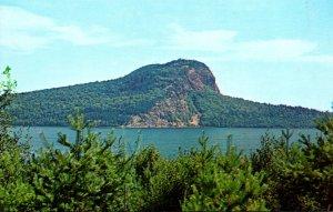 Maine Mooshead Lake With Mt Kineo