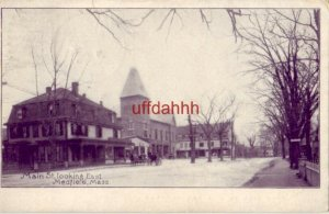 pre-1907 MAIN ST. LOOKING EAST, MEDFIELD, MA. 1908