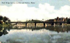 North Bridge in Auburn, Maine