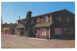 The 112 Mile House Lodge, Lac La Hache, Cariboo Highway, B.C.,  Canada,  40-60s