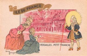 Versailles Petit Trianon Gaston Marechaux Unused