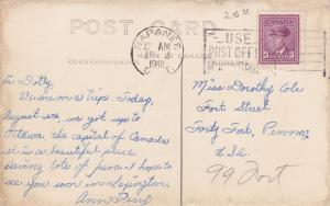 RP:  NAPANEE , Ontario , Canada , PU-1948; County Buildings