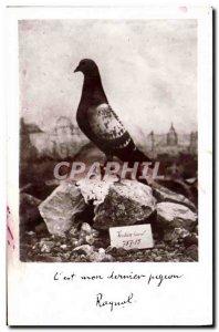 Old Postcard Colombogramme Commander Raynal Defender of the Fort de Vaux Verd...