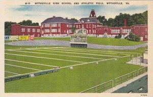 Virginia Wytheville High School and Athletic Field