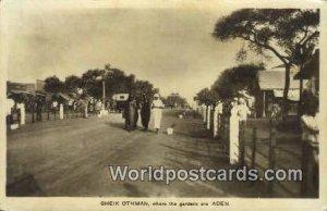 Sheik Othman Aden Republic of Yemen 1937 Missing Stamp