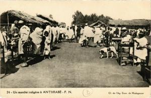 CPA Antsirabe- Une marche indigene MADAGASCAR (830014)