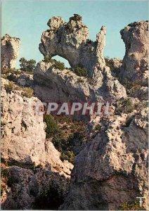 Postcard Modern Languedoc Circus moureze The Zebu