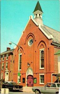 Dover DE Wesley Methodist Church Postcard unused (16419)