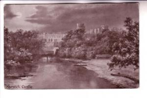 B&W Moonlight, Warwick Castle, England, The Worcester Series