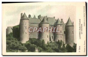Postcard Old Luynes Indre et Loire Chateau