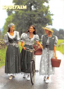 Kitzbuehel Countrystyle hat einen Namen Sportalm Beautiful Women Bicycle