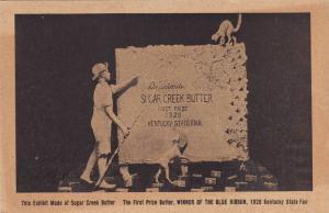 Sugar Creek Butter Co Statue , 1st Prize, State Fair , Kentucky , 1928