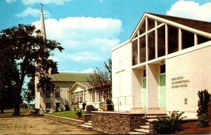 Rhode Island Barrington Congregational Church and Church House