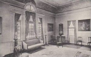 Virginia Mount Vernon Corner Of Banquet Hall Home Of George Washington Albertype