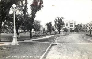 Hasting Nebraska~Ingleside State Hospital~Real Photo Postcard 1940s