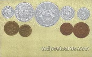 Mexico Coin, Coins, Postcard Post Card  Mexico