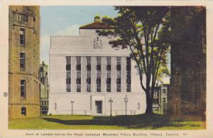 Bank of Canada, Royal Canadian Mounted Police Building, Ottawa, Ontario, Cana...
