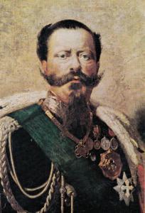 Vittorio Emmanuele II Painting Museo Nazionale Del Risorgimento Postcard