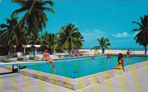 Florida Islamorada The Islander Resort Swimming Pool In The Florida Keys