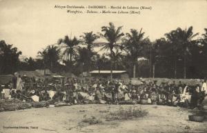 CPA Dahomey Afrique - Marché de Lokossa (86873)