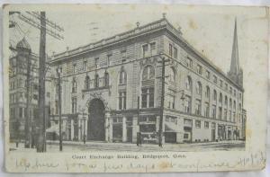 Court Exchange Building Bridgeport CT 1907